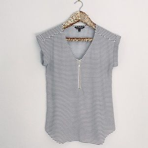 Express Gramercy Blouse in striped print
